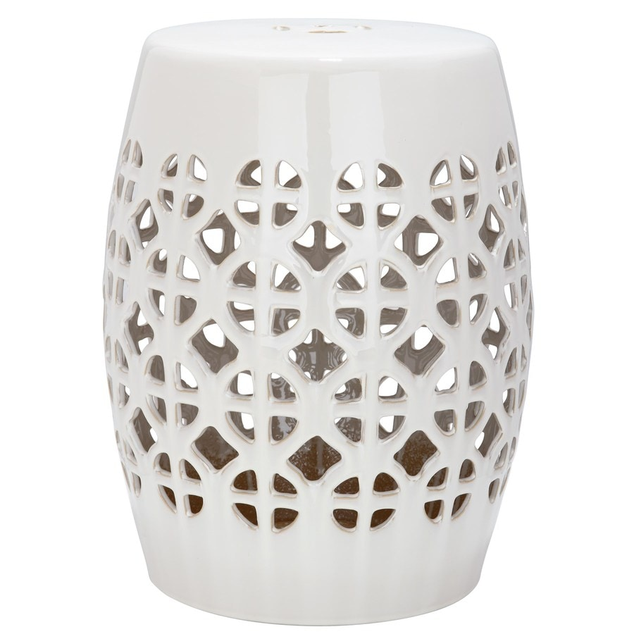 Safavieh 18.5-in Cream Ceramic Barrel Chinese Garden Stool  sc 1 st  Loweu0027s & Shop Safavieh 18.5-in Cream Ceramic Barrel Chinese Garden Stool at ... islam-shia.org
