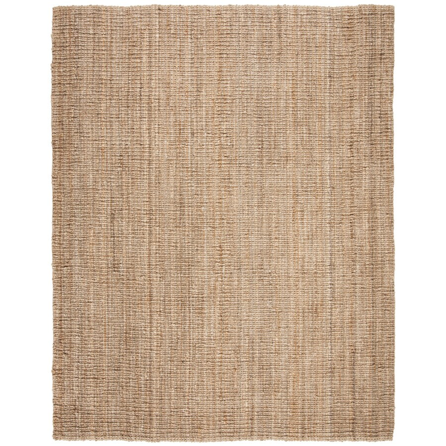 Safavieh Natural Fiber Natural Rectangular Indoor Woven Coastal Area Rug (Common: 8 x 10; Actual: W x L x 0-ft Dia)
