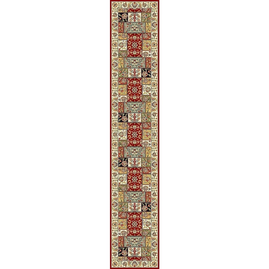 Safavieh Lyndhurst Omni Ivory Indoor Oriental Runner (Common: 2 x 22; Actual: 2.25-ft W x 22-ft L)