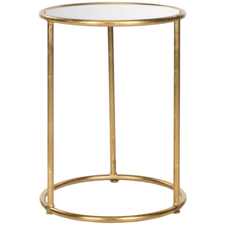 Safavieh Shay Gold/Mirror Top End Table