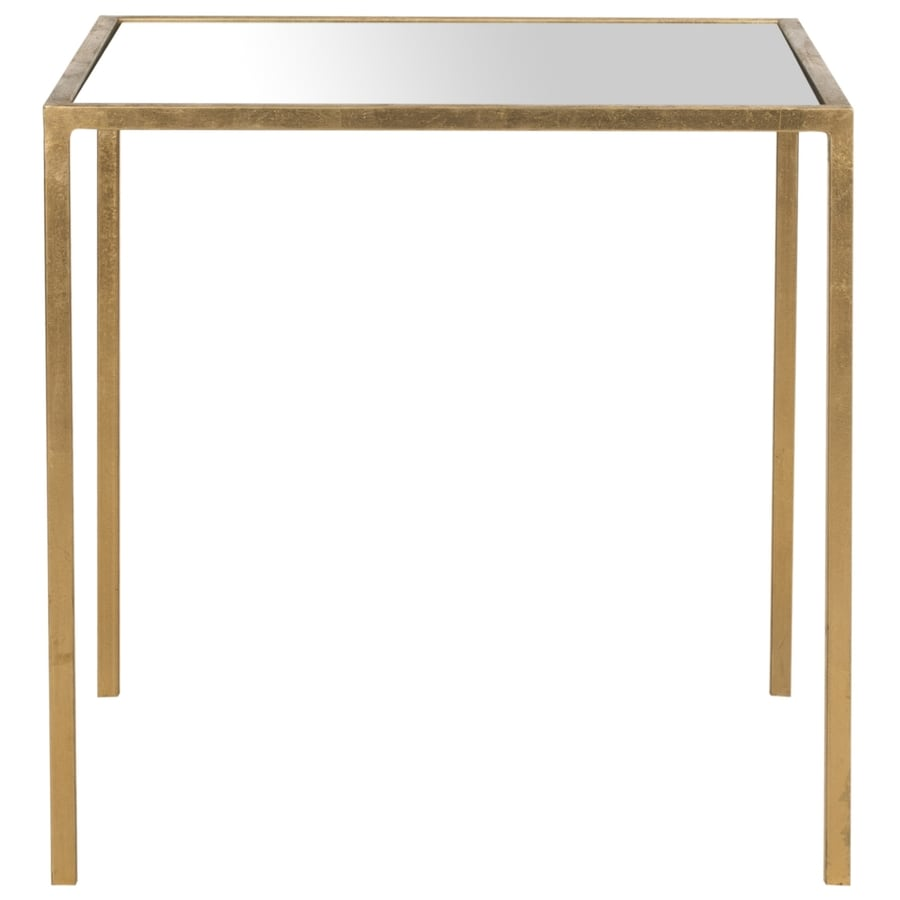 Safavieh Kiley Gold/Mirror Top End Table