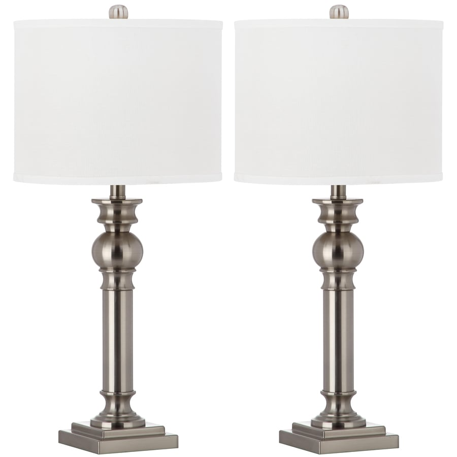 Safavieh Argos 2 Piece Lamp Set With Off White Shades