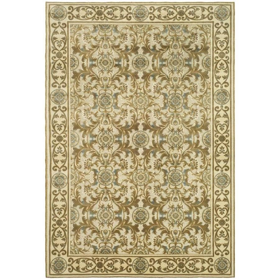 Safavieh Paradise Madera Ivory Indoor Oriental Area Rug (Common: 5 x 8; Actual: 5.25-ft W x 7.5-ft L)
