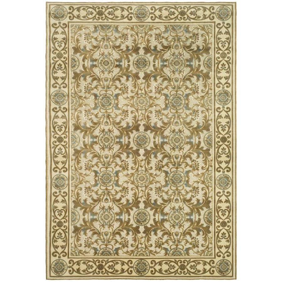 Safavieh Paradise Madera Ivory Rectangular Indoor Machine-made Oriental Area Rug (Common: 8 x 11; Actual: 8-ft W x 11.167-ft L)