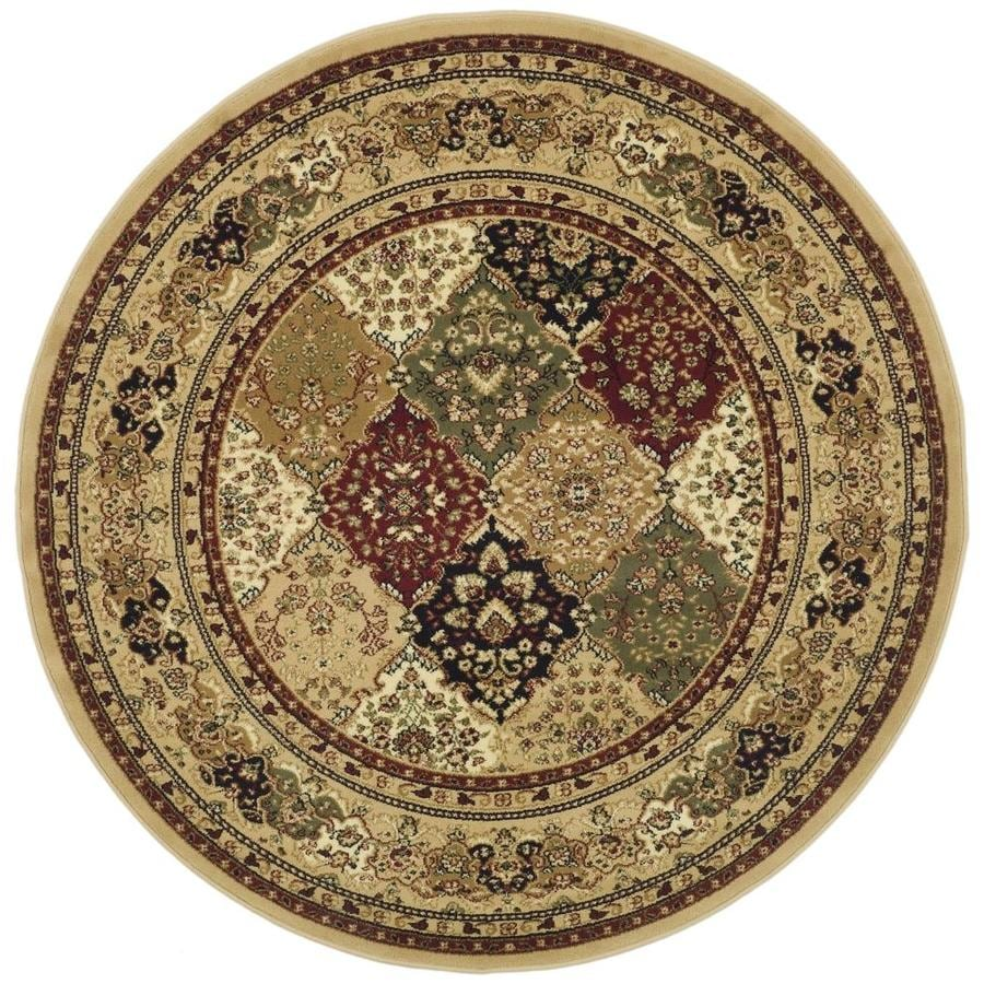 Safavieh Lyndhurst Diamond Baktiari Black Indoor Oriental Area Rug (Common: 5 x 8; Actual: 5.25-ft W x 7.5-ft L)
