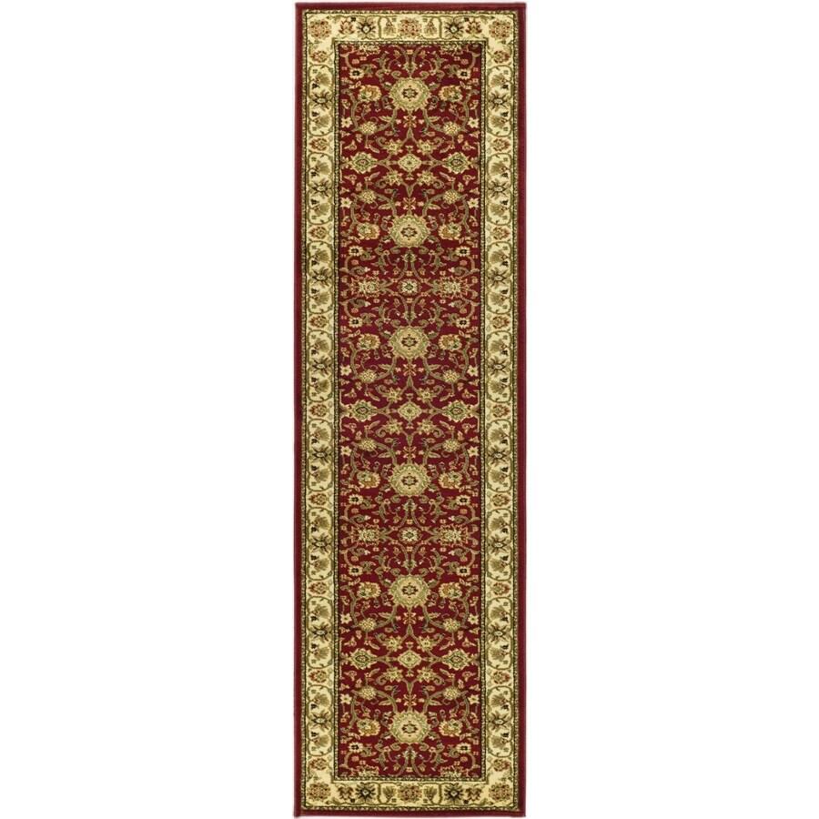 Safavieh Lyndhurst Sarouk Red/Ivory Indoor Oriental Runner (Common: 2 x 16; Actual: 2.25-ft W x 16-ft L)