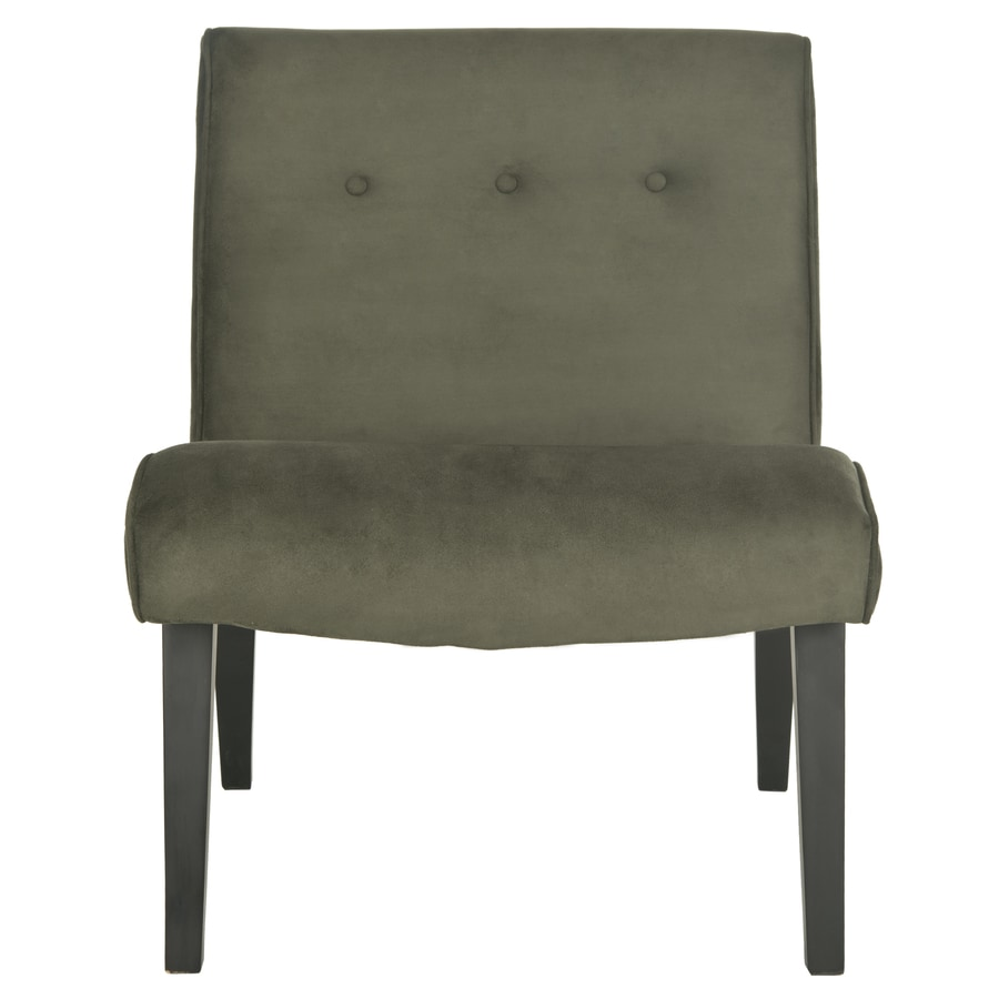 Safavieh Mercer Charcoal Accent Chair