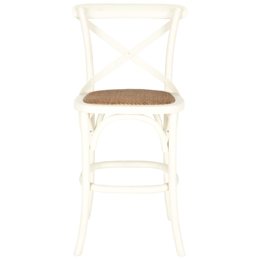Shop Safavieh Franklin Country Cottage Ivory Counter Stool