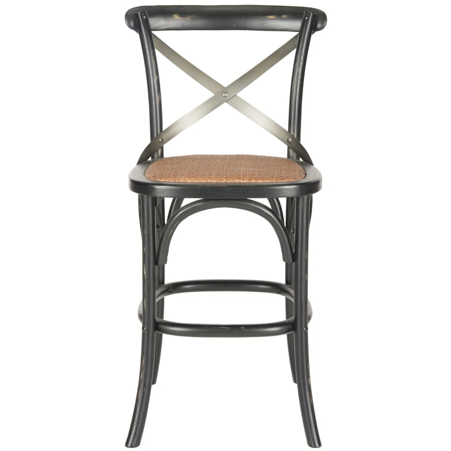 Safavieh Eleanor Country/Cottage Hickory Counter Stool