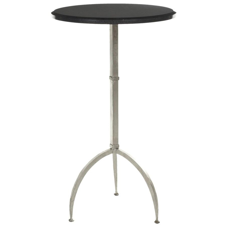 Safavieh Myrna Black/Silver End Table