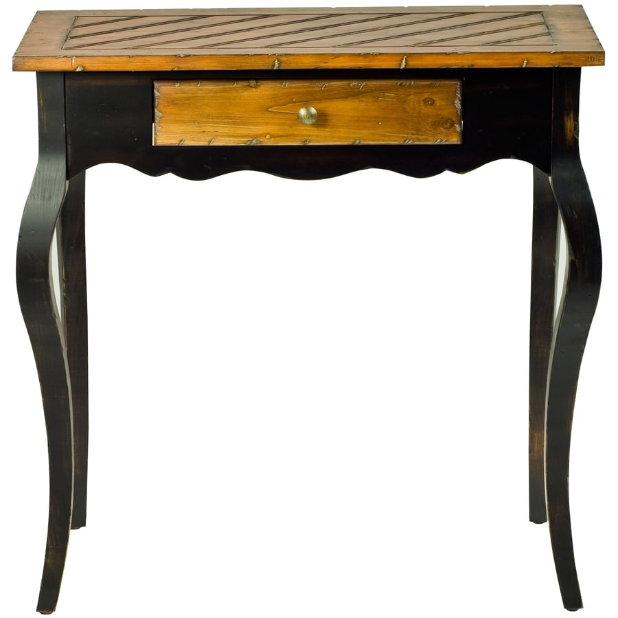 Safavieh Logan Honey Oak/Black Fir End Table