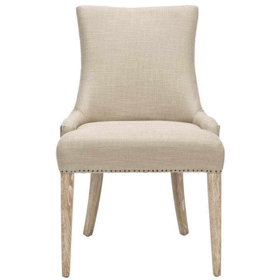 Safavieh Mercer Beige Side Chair