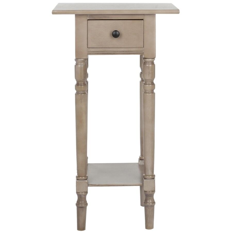 Safavieh American Home Vintage Grey Pine Rectangular End Table