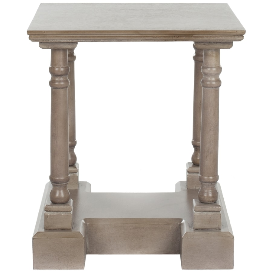Safavieh American Home Vintage Grey Pine Square End Table