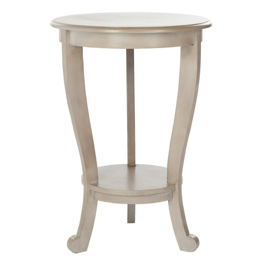 Safavieh American Home Vintage Grey Pine Round End Table