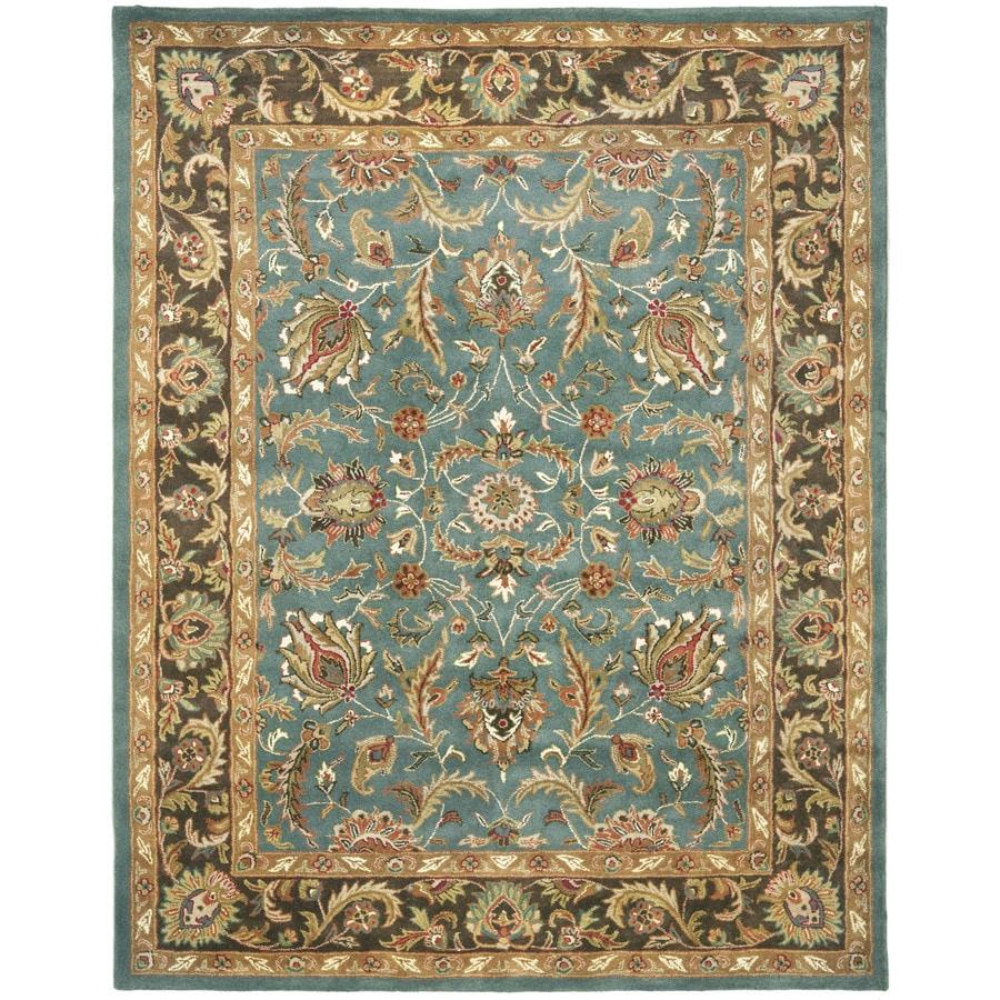 Safavieh Heritage Ganges Blue/Brown Rectangular Indoor Handcrafted Oriental Area Rug (Common: 11 x 13; Actual: 11-ft W x 16-ft L)