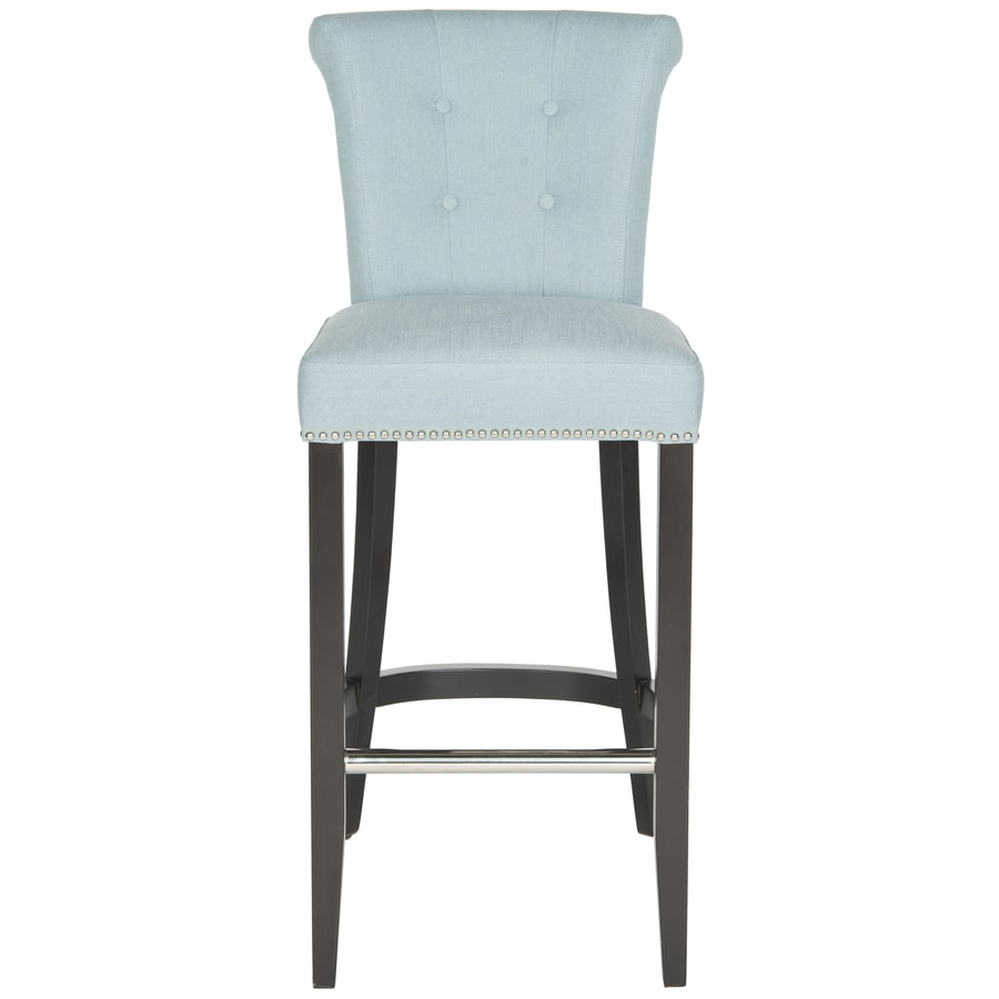 Safavieh Hudson Sky Blue 29.7-in Bar Stool (27-in to 35-in)