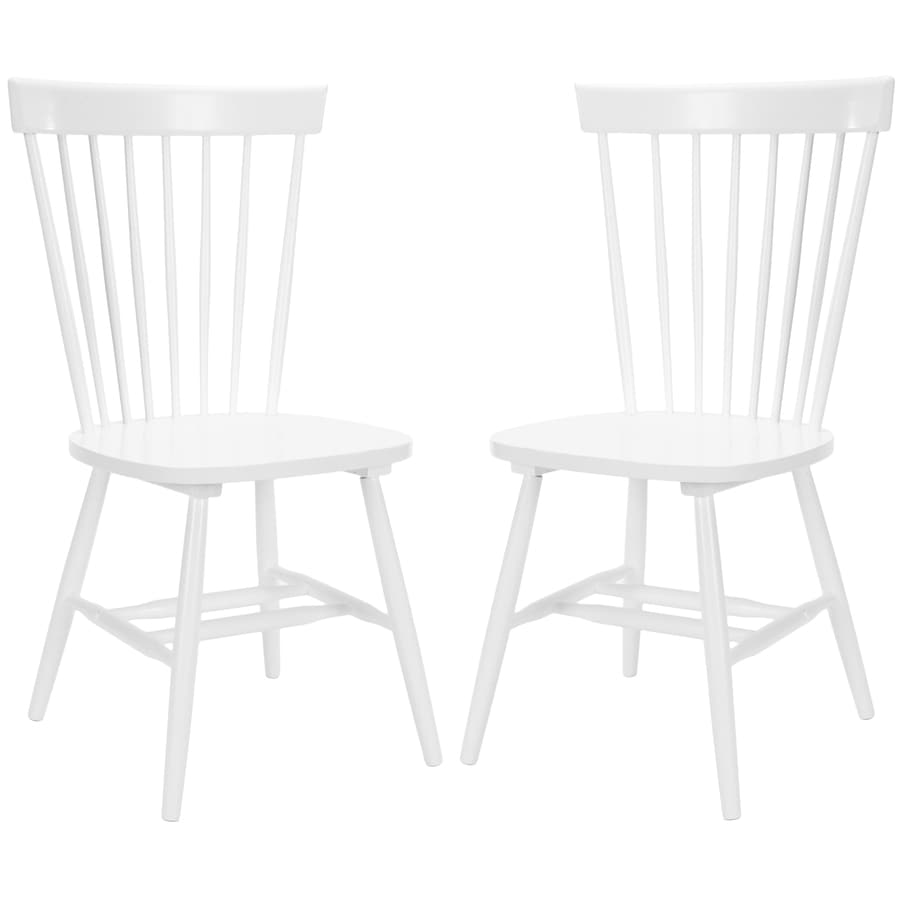 Safavieh Set of 2 Parker Traditional Medium Side Chairs