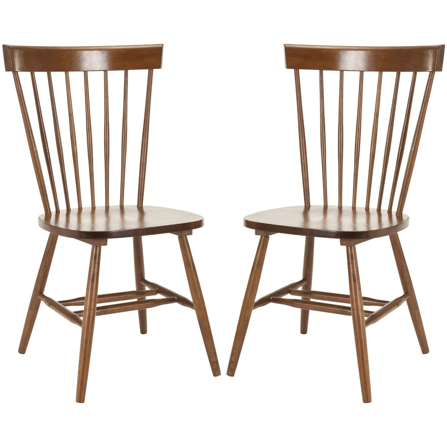 Safavieh Set of 2 American Home Natural Side Chairs