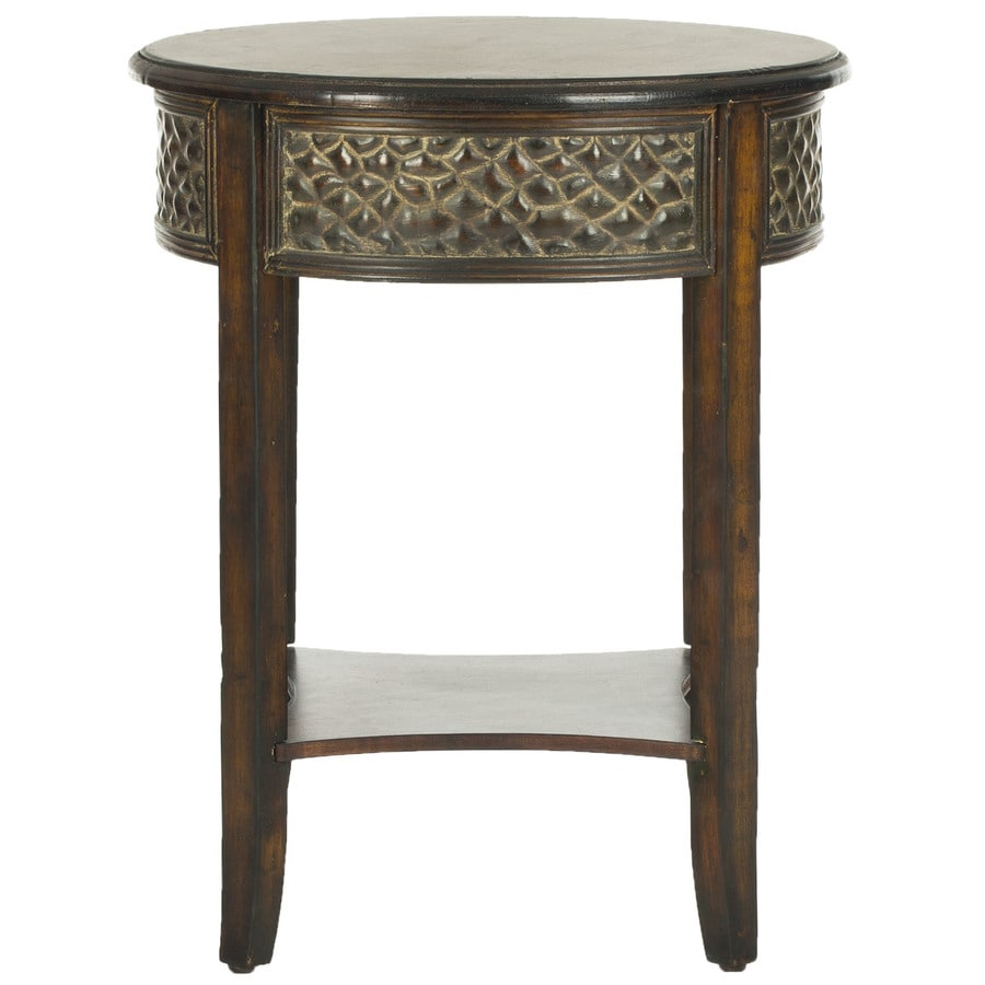 Safavieh Howard Dark Brown Birch End Table