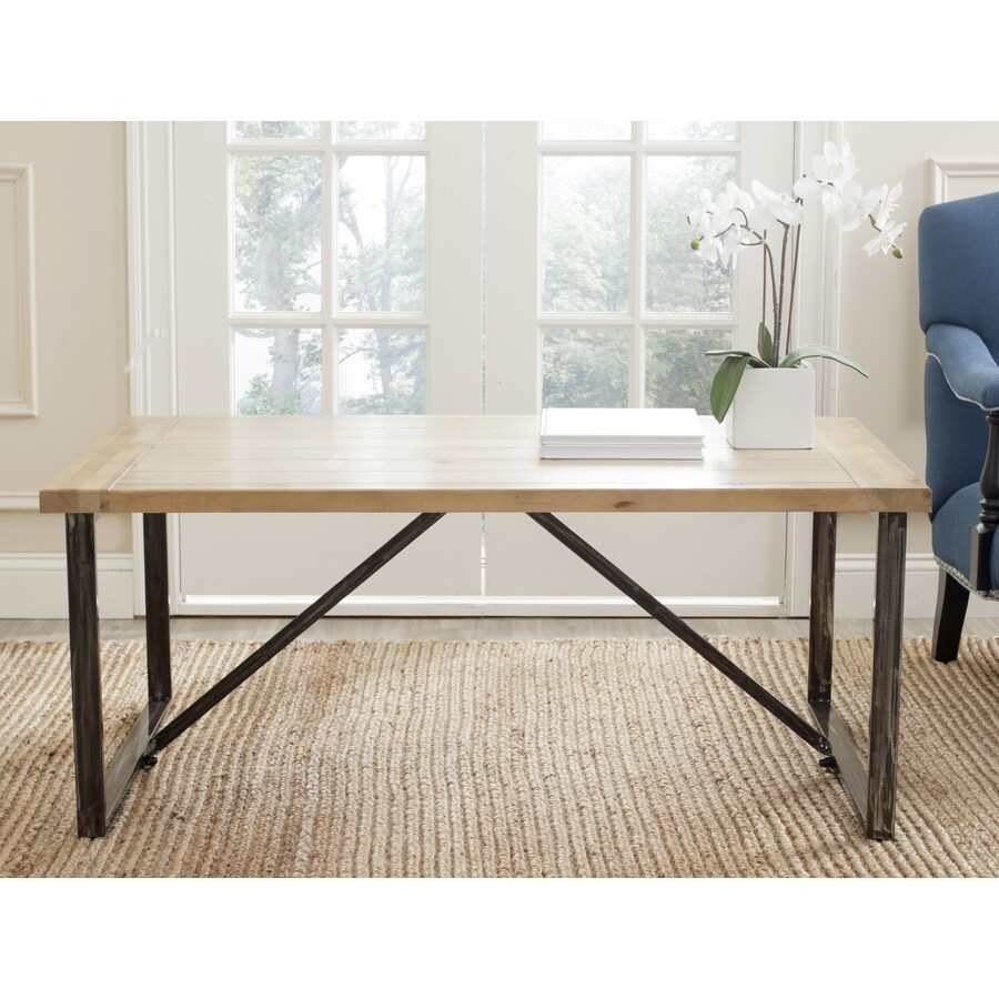Safavieh Chase Natural Fir   Coffee Table