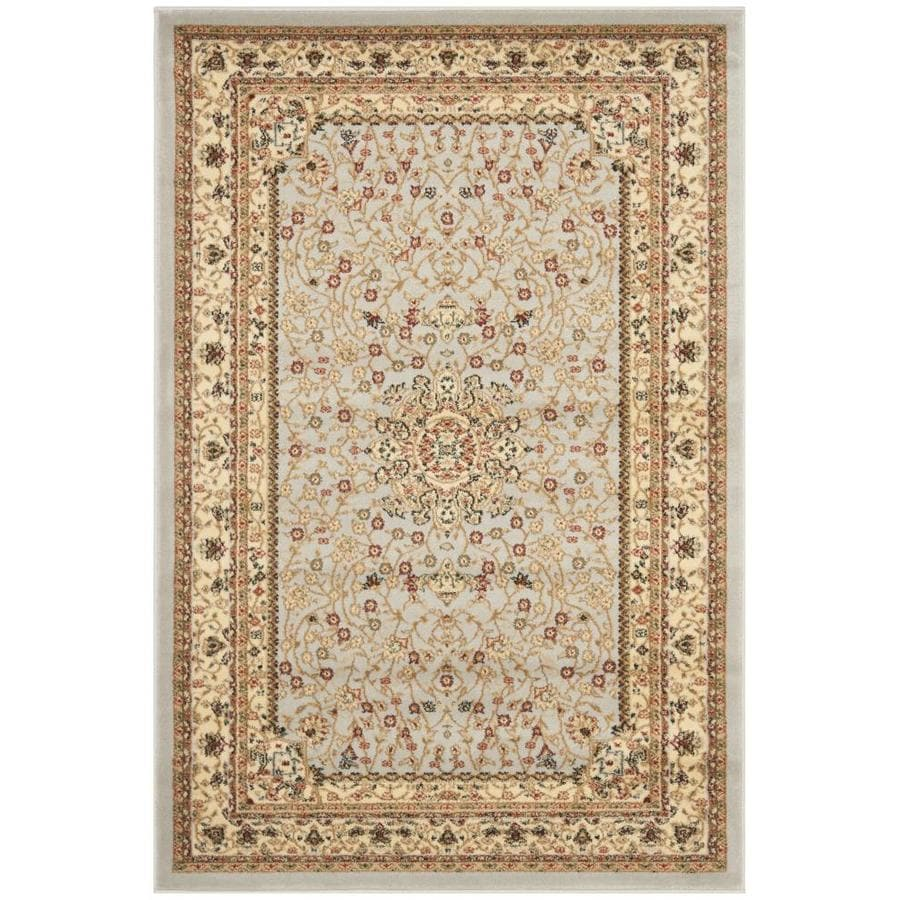 Safavieh Lyndhurst Tabriz Gray/Beige Rectangular Indoor Machine-made Oriental Runner (Common: 2 x 6; Actual: 2.25-ft W x 6-ft L)