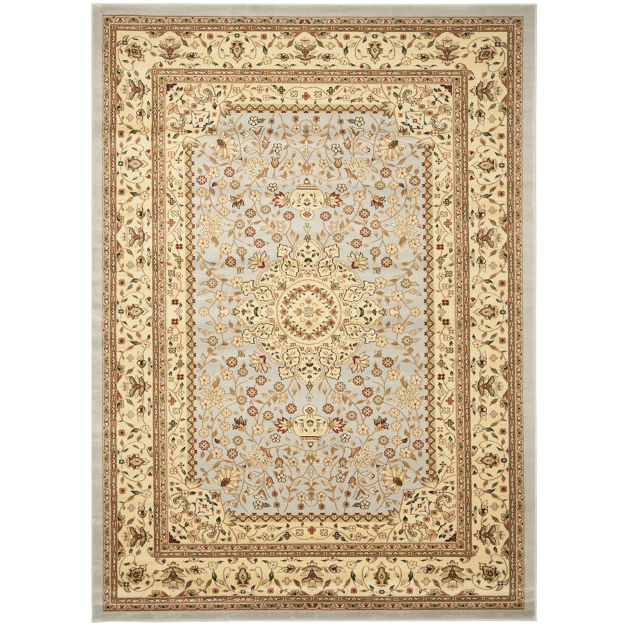 Safavieh Lyndhurst Tabriz Gray/Beige Rectangular Indoor Machine-made Oriental Area Rug (Common: 9 x 12; Actual: 8.917-ft W x 12-ft L)