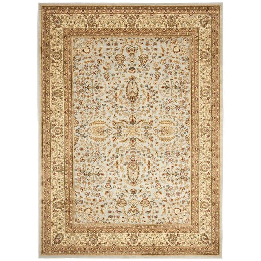 Safavieh Lyndhurst Isphahan Gray/Beige Indoor Oriental Area Rug (Common: 9 x 12; Actual: 8.9-ft W x 12-ft L)