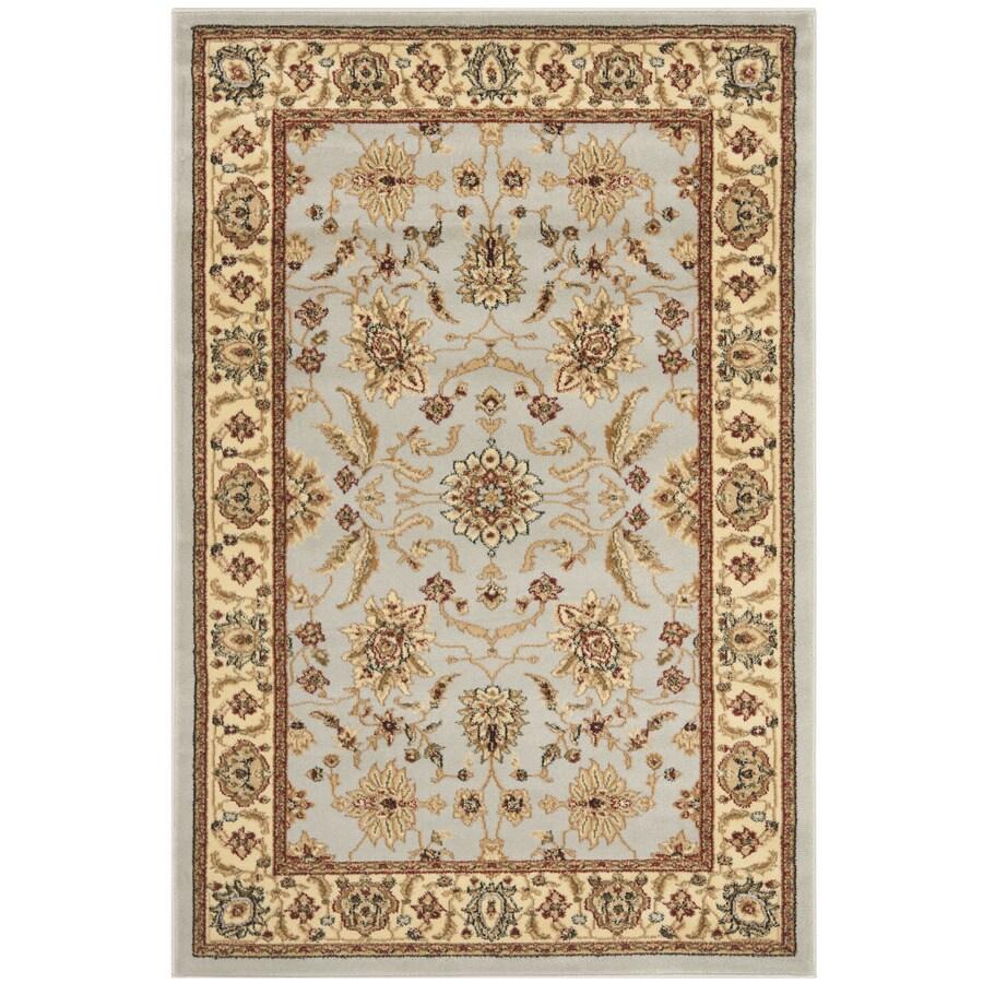 Safavieh Lyndhurst Agra Gray/Beige Indoor Oriental Runner (Common: 2 x 6; Actual: 2.25-ft W x 6-ft L)