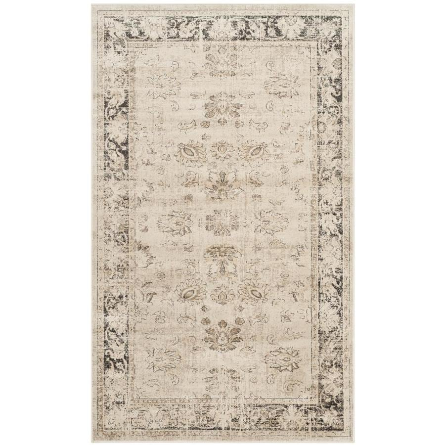 Safavieh Vintage Mosed Stone Indoor Distressed Area Rug (Common: 4 x 6; Actual: 4-ft W x 5.6-ft L)