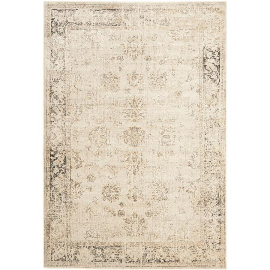 Safavieh Vintage Mosed Stone Rectangular Indoor Machine-made Distressed Area Rug (Common: 5 x 7; Actual: 5.25-ft W x 7.5-ft L)