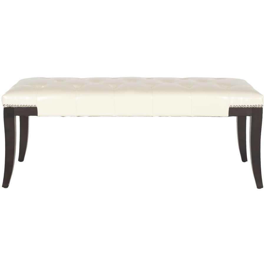Safavieh Mercer Flat Cream Indoor Accent Bench