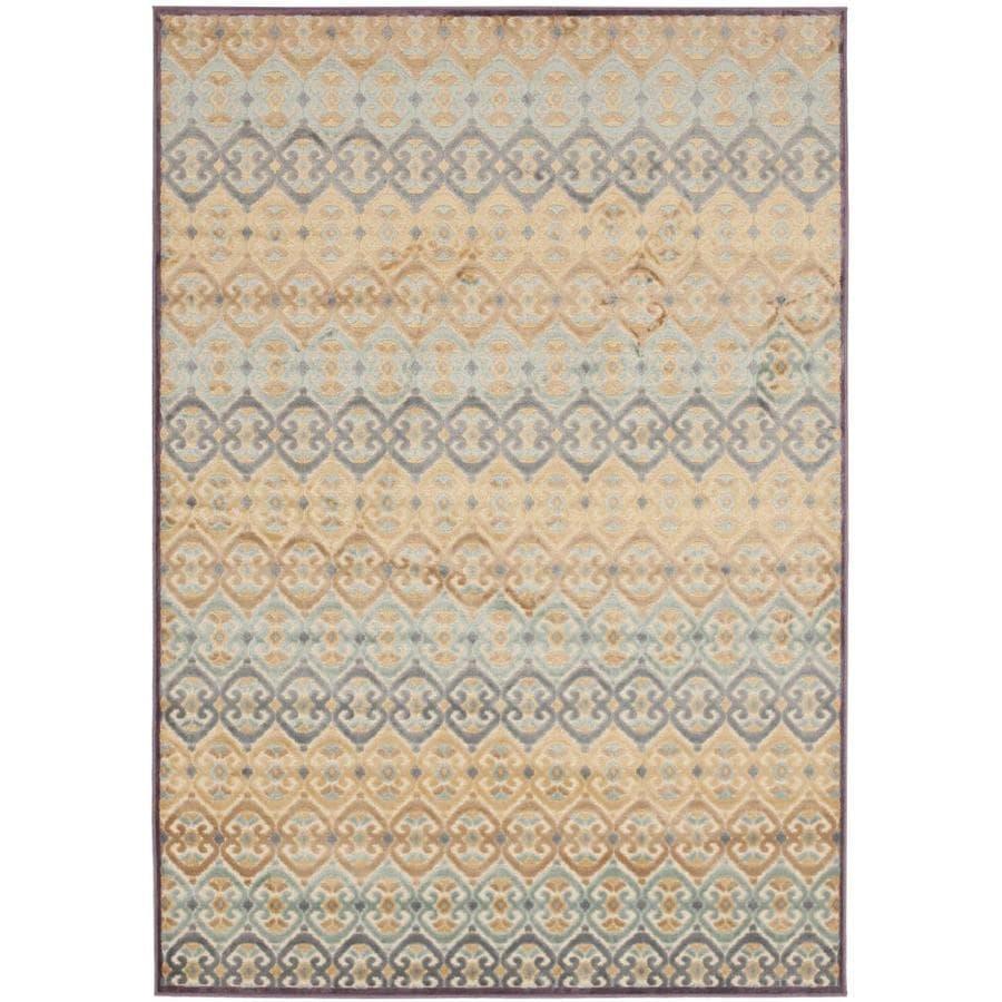 Safavieh Paradise Winford Mauve Indoor Oriental Area Rug (Common: 5 x 8; Actual: 5.25-ft W x 7.5-ft L)