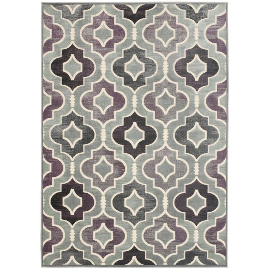 Safavieh Paradise Reed Gray Indoor Oriental Area Rug (Common: 8 x 11; Actual: 8-ft W x 11.2-ft L)