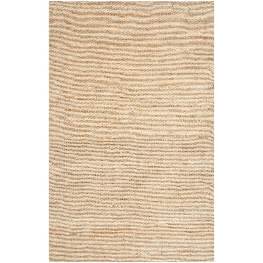 Safavieh Natural Fiber Amity Natural Indoor Handcrafted Coastal Area Rug (Common: 5 x 8; Actual: 5-ft W x 8-ft L)