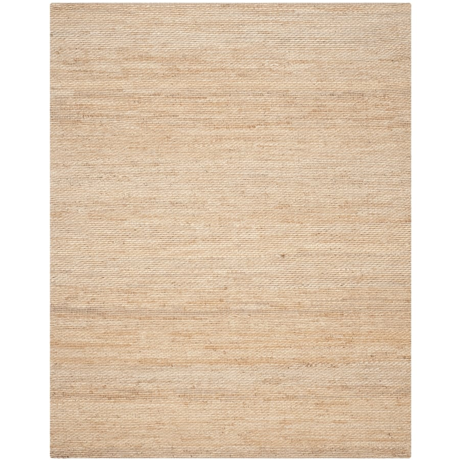 Safavieh Natural Fiber Amity Natural Indoor Handcrafted Coastal Area Rug (Common: 9 x 12; Actual: 9-ft W x 12-ft L)