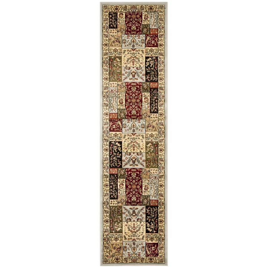 Safavieh Lyndhurst Omni Gray Indoor Oriental Runner (Common: 2 x 11; Actual: 2.25-ft W x 11-ft L)