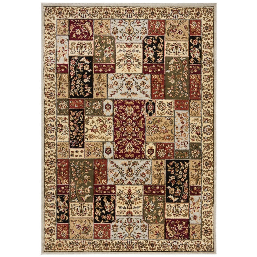 Safavieh Lyndhurst Gray/Multi Rectangular Indoor Machine-Made Oriental Area Rug (Common: 4 x 6; Actual: 4-ft W x 6-ft L)