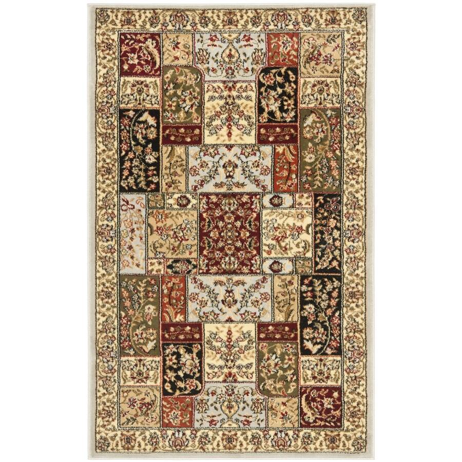 Safavieh Lyndhurst Omni Gray Indoor Oriental Area Rug (Common: 8 x 11; Actual: 8-ft W x 11-ft L)