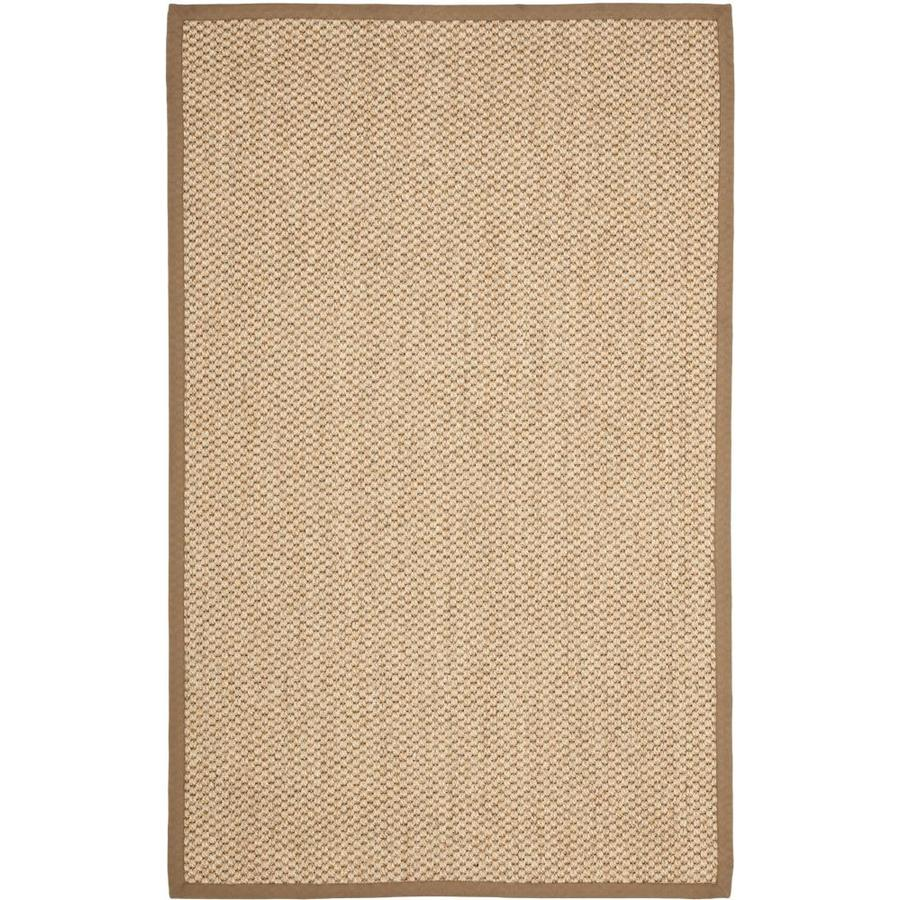 Safavieh Natural Fiber Martinque Natural Rectangular Indoor Machine-Made Coastal Area Rug (Common: 5 x 8; Actual: 5-ft W x 8-ft L)