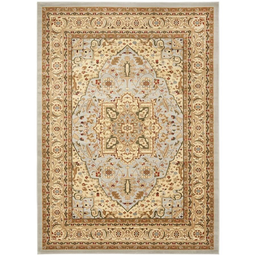 Safavieh Lyndhurst Heriz Gray/Beige Indoor Oriental Area Rug (Common: 8 x 11; Actual: 8-ft W x 11-ft L)