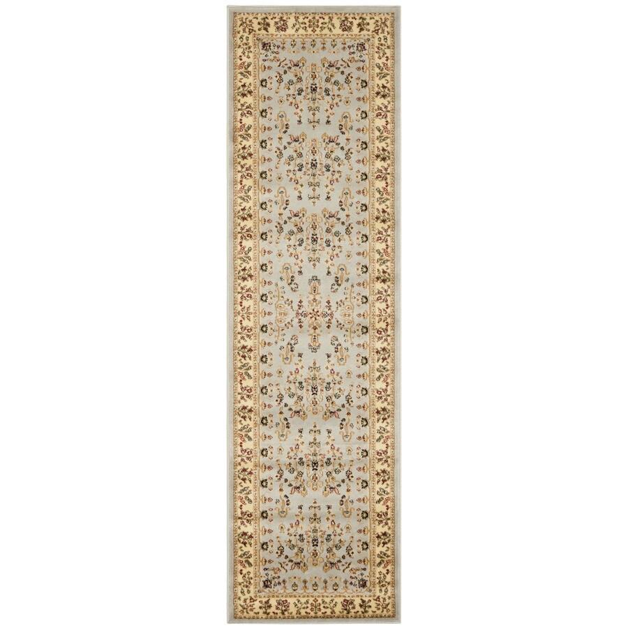 Safavieh Lyndhurst Hamadan Gray/Beige Indoor Oriental Runner (Common: 2 x 6; Actual: 2.25-ft W x 6-ft L)