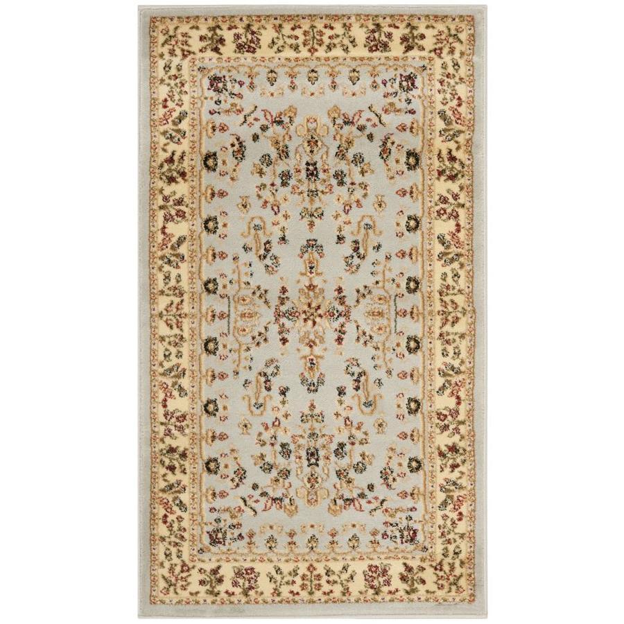 Safavieh Lyndhurst Hamadan Gray/Beige Indoor Oriental Area Rug (Common: 4 x 6; Actual: 4-ft W x 6-ft L)
