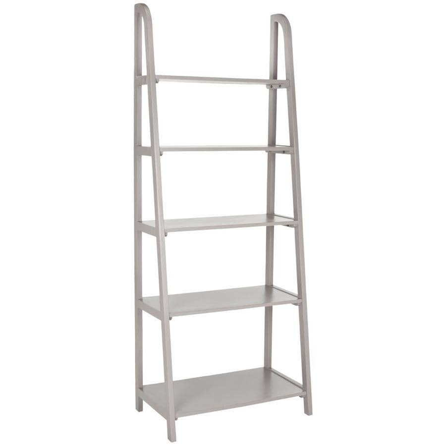 Safavieh 72.2-in H x 28-in W x 16-in D Metal Freestanding Shelving Unit