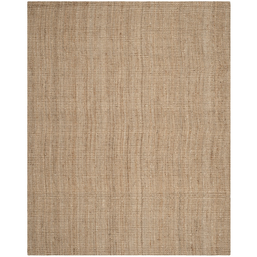 Safavieh Natural Fiber Saintes Natural Indoor Handcrafted Coastal Area Rug (Common: 8 x 10; Actual: 8-ft W x 10-ft L)