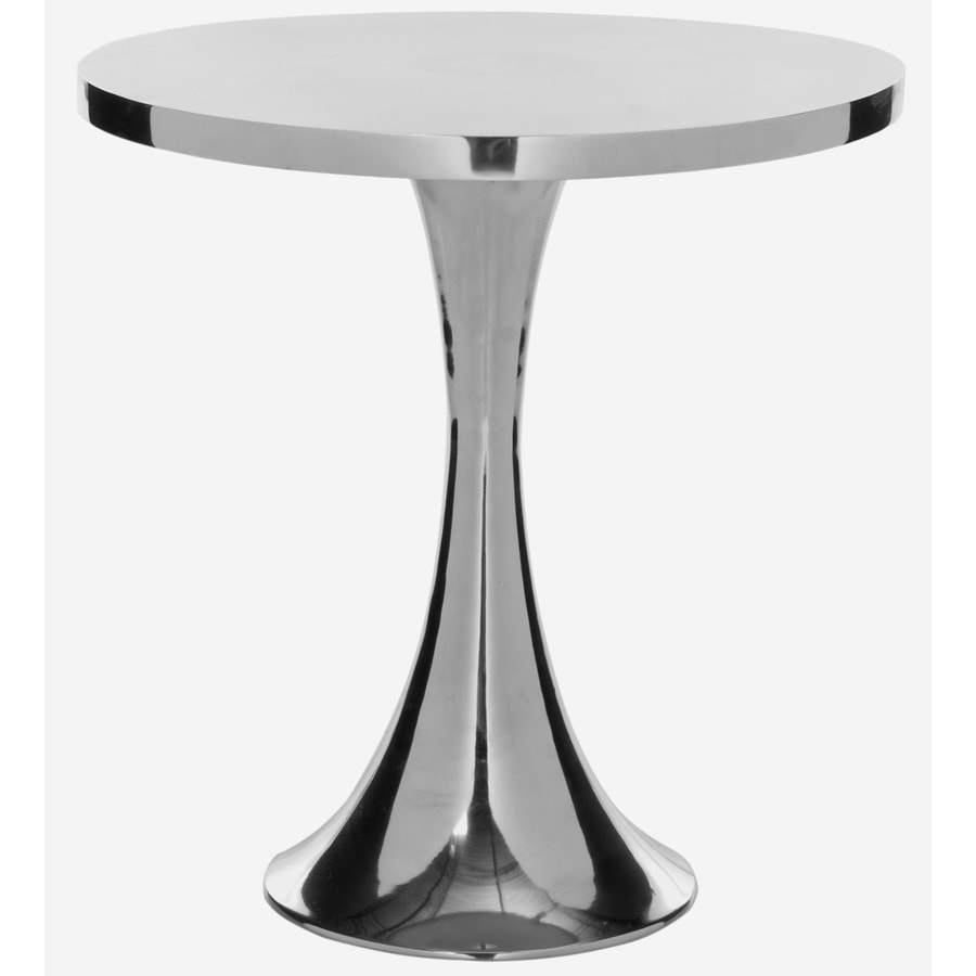 Safavieh Fox Silver Round End Table