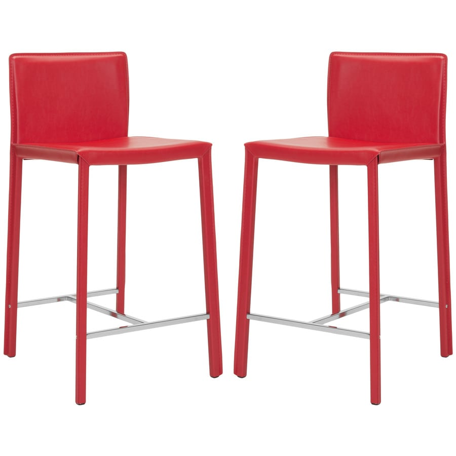 Safavieh Fox Red 24-in Counter Stool