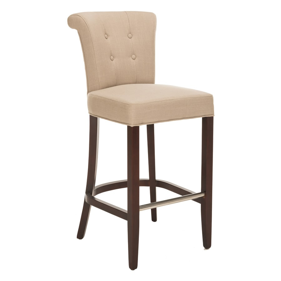 Safavieh Hudson Collection Beige 30-in Bar Stool