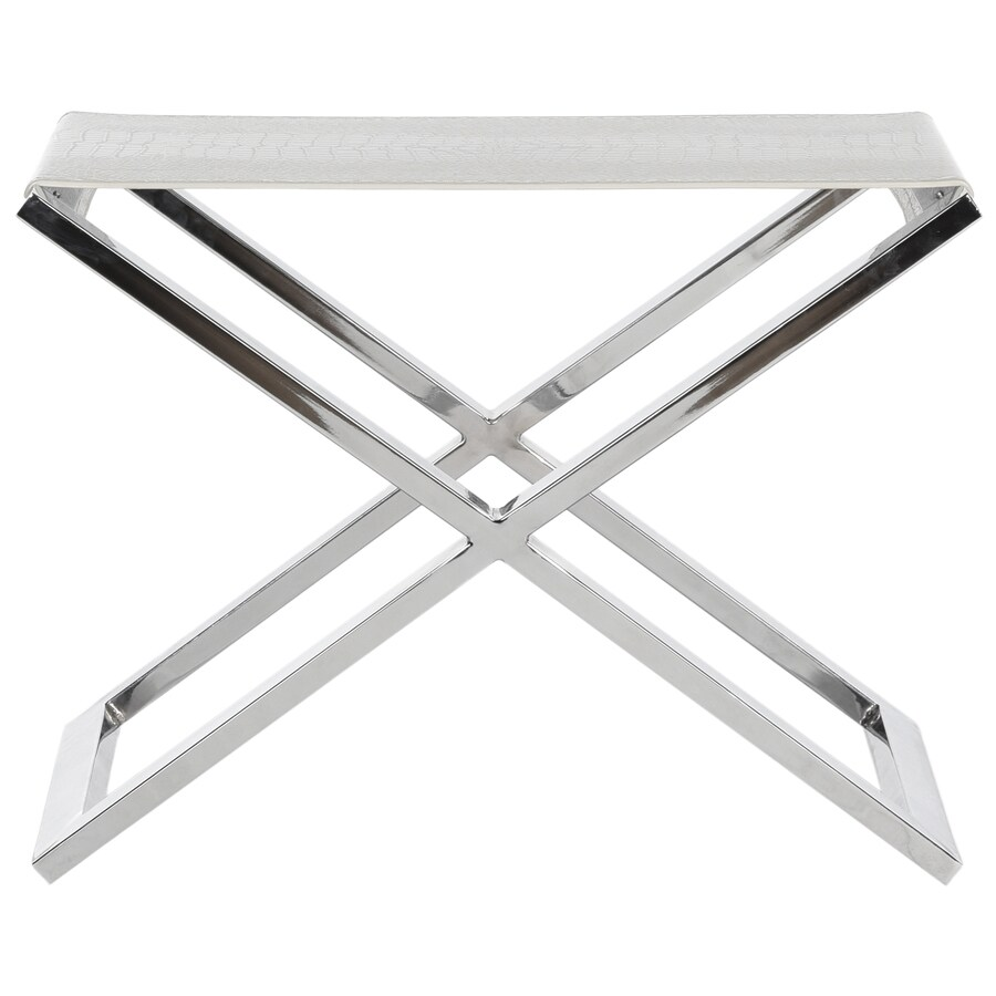 Safavieh Verdi White/Crocodile End Table