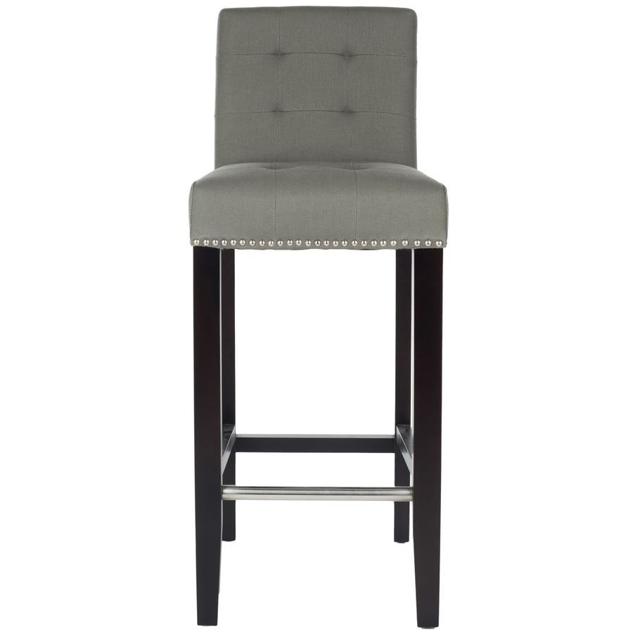 Shop Safavieh Thompson Modern Sea Mist Bar Stool At Lowes Com